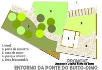 Área recreativa en Catoira: borrador idea general