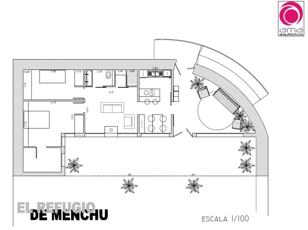 el refugio de Menchu 1